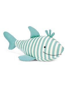 Sidney Shark #plush #toys #stuffedanimals