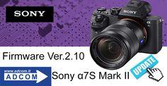 News Sony  Nuovo Firmware per a7S Mark II La fotocamera può ora registrare in formato XAVC S con schede SDHC e SDXC compatibili Info: https://goo.gl/OyHRrB