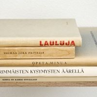 Anu Tuominen: From The Series: Anthology, 2009 (found books)