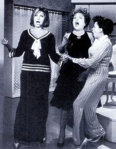 The Judy Garland Show (1963) Barbra Streisand, Ethel Merman! Some talented ladies!