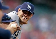 MATT MOORE <3 I just love that smile! He's pitching today! (Sat. 6-9-12) against the Marlins