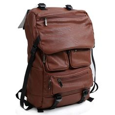 men's brown leather laptop bags