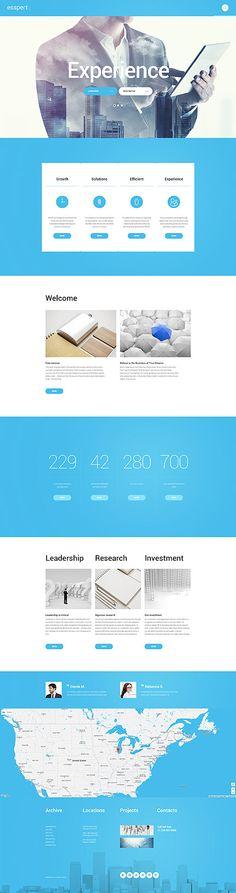 Business Consultant #WordPressTheme