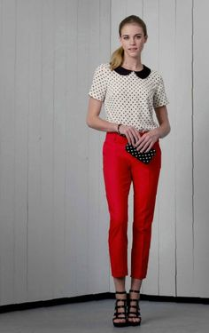 red and polka dots: Target Spring 2013 Style