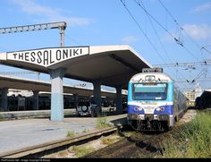 RailPictures.Net Photo: 621109 OSE Hellenic Railways MAN DMU at Thessaloniki, Greece by Beppe