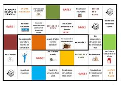 French Teacher, Teaching French, French Worksheets, Board Game Design, French Education, French Grammar, Learn French, Teaching Resources, Motivational Quotes