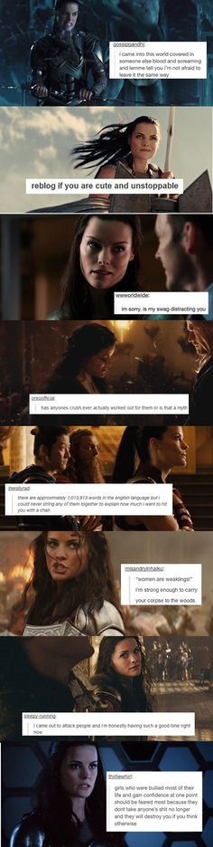 Lady Sif. I'm confused  I don't know if I should ship her and Thor or with Loki