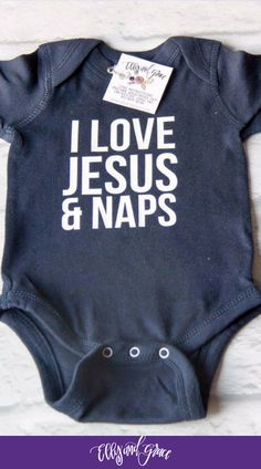 Christian infant and baby clothing. The softest bodysuits and onesies around!