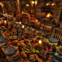 Hobbit Evening Feast!