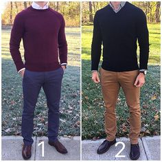 Happy Thanksgiving to all of you and your families ‍‍‍ in the United States❗️ And I hope everyone else has an awesome day as well❗️ Which sweater look do you like best for today❓