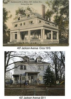 This house is just down the street from me. Why would anyone do this to a beautiful old home? Thanks to my friend Dave Remley for preserving neighborhood history.