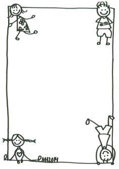 black picture frames clip art borders black and white children border black picture frames clipart Borders For Paper, Borders And Frames, English Creative Writing, School Border, Kindergarten Portfolio, Page Arizona, School Frame, Black Picture Frames, Page Borders