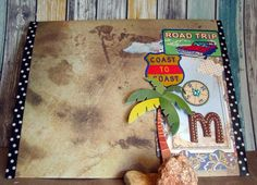 A tribute to someone who loves to travel to MEXICO...Handmade envelope: Mexican souvenir