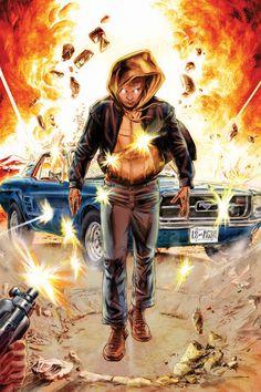 ~Harbinger #1 Variant~ Valiant re-launch 2012. Art by Doug Braithwaite...............!!!!  ..