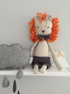 A personal favourite from my Etsy shop https://www.etsy.com/listing/574204922/lion-toy-stuffed-lion-rag-doll-soft-toy