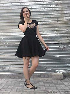 Form of Ugliness: Skort, Faux Circle Skirt - How to Make It - DIY TU...