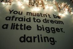 Ambition and dreams are driving me further and I can't stop smiling! :0)