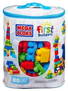 094425415ced Mega Bloks First Builders Big Building Bag
