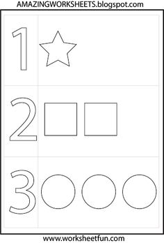 Preschool - Numbers and Shapes