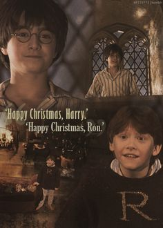 """To a Harry Potter fan it's """"Happy Christmas."""" not """"Merry Christmas."""""""