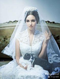 My wedding_ 에일린 couture 드레스 Neoromanticism Period