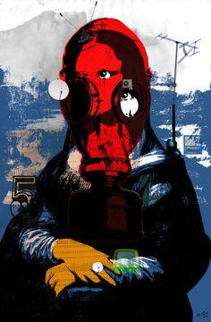 Mona Gasa StreetPunkArt // Die blauen Reiter