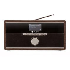 Auna Weimar DAB radio Internet radio Bluetooth wallnuss