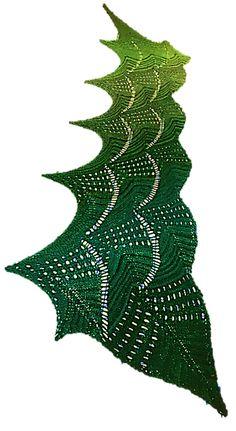 Ravelry: Manta Ray Scarf pattern by Scott Timothy