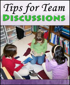 """Cooperative Learning not working for you? Read this post to learn how to add structure and avoid the pitfalls of """"group work."""" Includes easy tips for team discussions."""