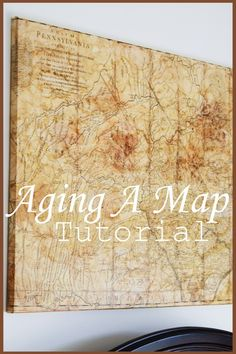 Age a map