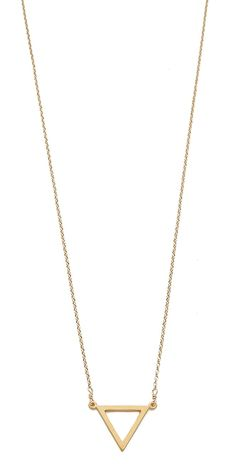 Dogeared Balance Triangle Necklace | SHOPBOP
