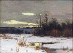 "Charles Warren Eaton, ""WInter Solitude"""