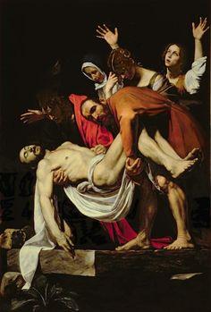 'Deposition' (1602); by Caravaggio