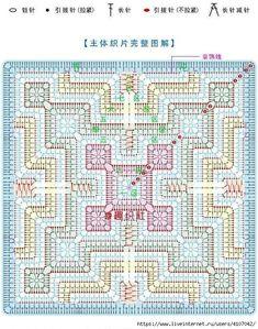 Ideas for crochet blanket stitch hands Crochet Squares, Crochet Square Patterns, Crochet Blocks, Crochet Diagram, Crochet Stitches Patterns, Crochet Chart, Crochet Granny, Filet Crochet, Crochet Pillow Pattern