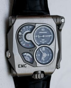 URWERK EMC Watch Hands-On