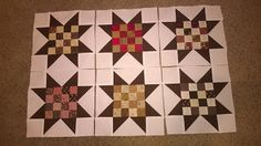 K's Quilting Korner: Scraps Update and Browns