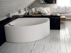 Download the catalogue and request prices of Divina c by Novellini, corner bathtub design Massimo Farinatti, Divina series