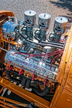 Olds 88 Rocket Motor