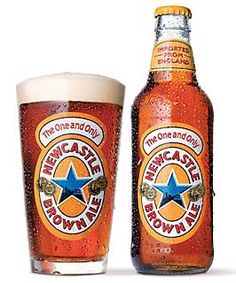 Newcastle Brown Ale, the best beer in the world- At least in the running New Castle Beer, Newcastle Brown Ale, Beers Of The World, Beer Snob, Cream Soda, German Beer, Wine And Liquor, Best Beer, Home Brewing