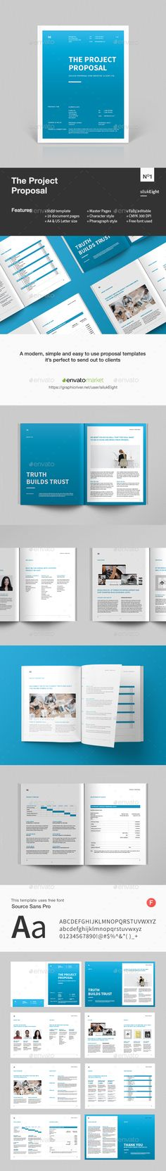 Web Design Proposal  Proposals Proposal Templates And Modern Web