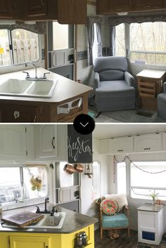 Amazing Tiny Camper Remodel Ideas With Before And After Picture – Smart Home and Camper