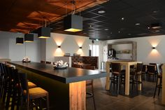 Project by Nexxt! Lighting solutions (nl) with products of TAL's BLACK + GOLD range