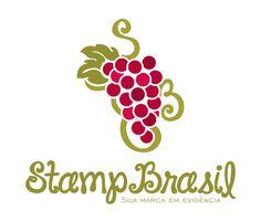 Logotipo criado para a StampBrasil, empresa do ramo de estamparia em Goiânia/GO.