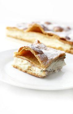 Karpatka...one of my favorite polish desserts...yum!
