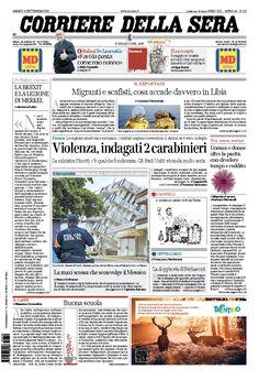 Corriere della Sera // 09/09/2017 //