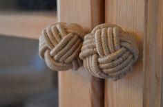gałki ze sznurka