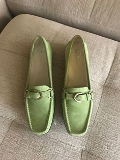 9e4ed124ca4a New Anne Klein Loafers in Light Green Size 9 1 2  fashion  clothing  shoes   accessories  womensshoes  flats (ebay link)