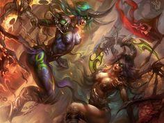 demon hunter world of warcraft legion