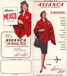 "Avianca ""Red-Coat Service"" or ""Servicio Ruana Roja""."