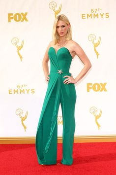 January Jones | All The Looks From The 2015 Emmy Awards